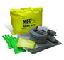 MeltBlown Technologies 5 Gallon Yellow Plastic Bag Spill Kit