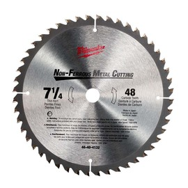 "Milwaukee® 7 1/4"" Endurance™ Carbide Circular Saw Blade | Tuggl"