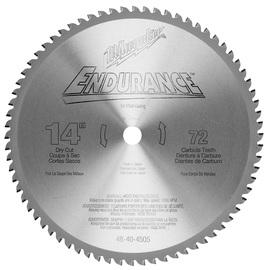 "Milwaukee® 14"" Endurance™ Carbide Tipped Circular Saw Blade | Tuggl"