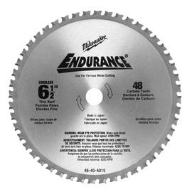 "Milwaukee® 6 1/2"" Alloy Steel Circular Saw Blade 6 Teeth Per Inch | Tuggl"
