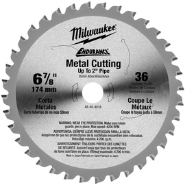 "Milwaukee® 6 7/8"" Steelhead Diamond Cut Circular Saw Blade 5 Teeth Per Inch | Tuggl"