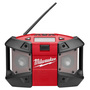 Milwaukee® M12™ Red And Black FM/AM Lithium-Ion Radio