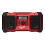 Milwaukee® M18™ Black And Red FM/AM Jobsite Cordless Radio