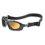Honeywell Uvex Seismic® Black Safety Glasses With Espresso Polycarbonate  Uvextra™ Anti-Fog Lens