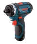 Bosch 12 Volt/2 A 500 rpm 2 Speed Cordless Pocket Driver Kit