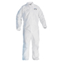 Kimberly-Clark Professional™ 3X White KleenGuard™ A40 Film Laminate Disposable Coveralls (Lead time for this product may be longer than normal.)