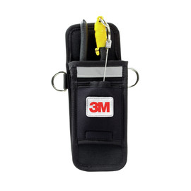 3M™ DBI-SALA® Black Single Tool Belt Holster With Retractor