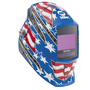 Miller® Digital Elite™ Red/White/Blue Welding Helmet Variable Shades 3, 5 - 13 Auto Darkening Lens