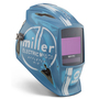 Miller® Digital Elite™ Blue/White Welding Helmet Variable Shades 3, 5 - 13 Auto Darkening Lens