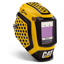 Miller® Digital Elite™ Yellow/Black Welding Helmet Variable Shades 3, 5 - 13 Auto Darkening Lens