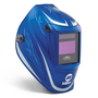 Miller® Digital Performance™ Blue/White Welding Helmet Variable Shades 3, 5 - 13 Auto Darkening Lens