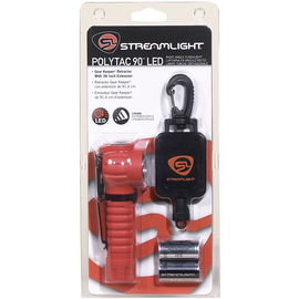 Streamlight® Orange PolyTac® Tactical Fire-Rescue Flashlight