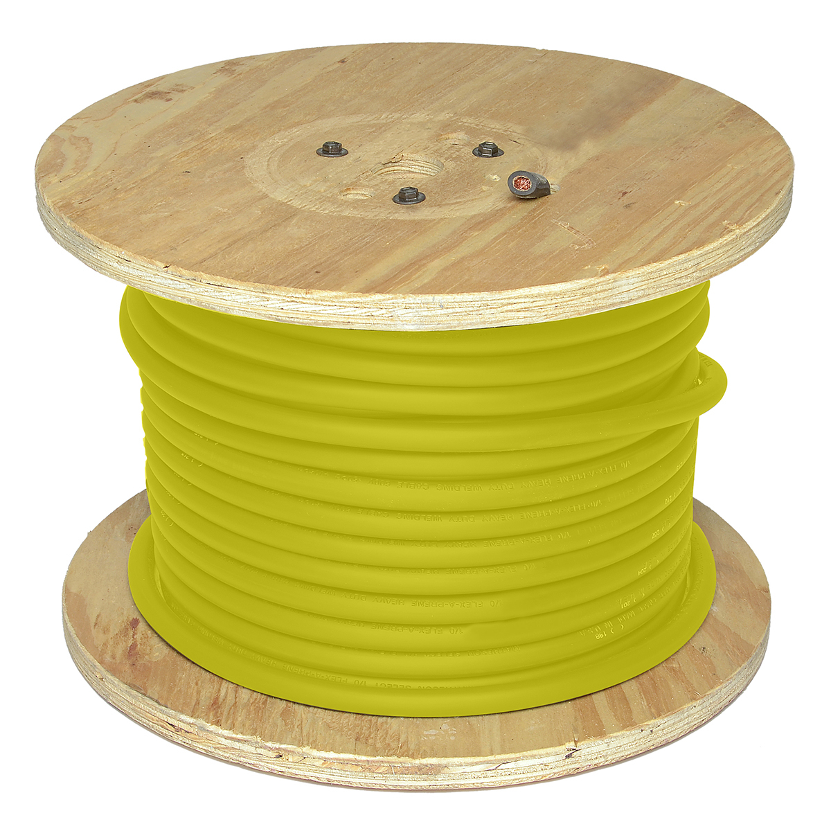 Airgas dirfp1 250yw direct wire cable 1 yellow flex a prene direct wire cable 1 yellow flex a prene welding cable 250 greentooth Image collections