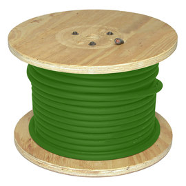 Direct Wire & Cable 1/0 Green Flex-A-Prene Welding Cable 250' Reel