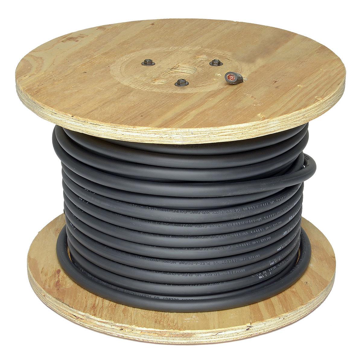 Airgas - DIRFP2359 - Direct Wire & Cable 2/0 Black Flex-A-Prene ...