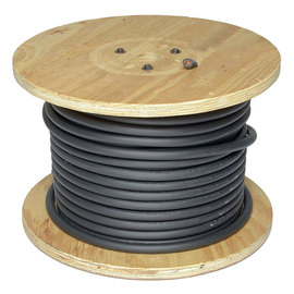 Direct Wire & Cable 4/0 Black Flex-A-Prene Welding Cable 100' Reel