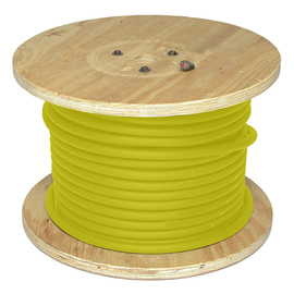 Direct Wire & Cable 1/0 Yellow Flex-A-Prene Welding Cable 500' Reel