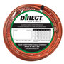 Direct Wire & Cable 2/0 Orange Ultra-Flex Welding Cable 25' Shrink Pack