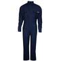 National Safety Apparel® 2X Navy TECGEN® OPF Blend 8 cal/cm² Flame Resistant Coverall With Zipper And Snaps Closure