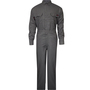 National Safety Apparel® Large Gray TECGEN® OPF Blend 8 cal/cm² Flame Resistant Coverall With Zipper And Snaps Closure