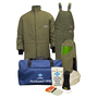 National Safety Apparel® 2X Olive Green RevoLite™ 40 cal/cm² Flame Resistant Arc Flash Kit