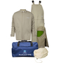 National Safety Apparel® X-Large Tan Cotton Nylon 40 cal/cm² Flame Resistant Arc Flash Kit