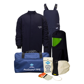 National Safety Apparel® 3X Navy UltraSoft® 40 cal/cm² Flame Resistant Arc Flash Kit