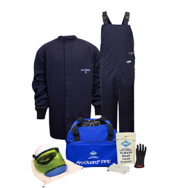 National Safety Apparel® 3X Navy UltraSoft® 12 cal/cm² Flame Resistant Arc Flash Kit