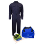 National Safety Apparel® X-Large Navy UltraSoft® 8 cal/cm² Flame Resistant Arc Flash Kit