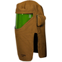 National Safety Apparel® One Size Fits Most Green Polycarbonate DuPont™ Nomex® Kevlar® 100 cal/cm² Arc Flash Hood With Hard Hat