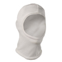 National Safety Apparel® One Size Fits Most White DuPont™ Nomex® Flame Resistant Balaclava