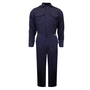 National Safety Apparel® 2X Navy UltraSoft® 12 cal/cm² Flame Resistant Coverall With Zipper Closure