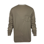 National Safety Apparel® 2X Khaki TrueComfort® 8.9 cal/cm² Flame Resistant Long Sleeve T-Shirt