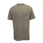 National Safety Apparel® 2X Khaki Classic Cotton™ 12 cal/cm² Flame Resistant T-Shirt