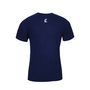National Safety Apparel® Large Navy Modacrylic Blend 4.0 cal/cm² Flame Resistant T-Shirt