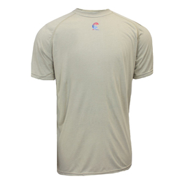 National Safety Apparel® Small Khaki Modacrylic Blend 3.6 cal/cm² Flame Resistant T-Shirt