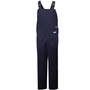 National Safety Apparel® Large Navy UltraSoft® 40 cal/cm² Flame Resistant Bib Overall With Buckles Closure