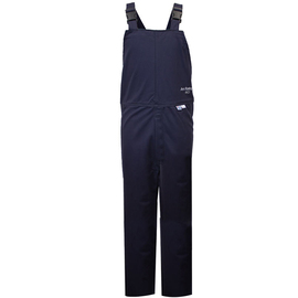 National Safety Apparel® 2X Navy UltraSoft® 40 cal/cm² Flame Resistant Bib Overall With Buckles Closure