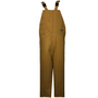 National Safety Apparel® Medium Caramel DuPont™ Nomex® Kevlar® 65 cal/cm² Flame Resistant Bib Overall With Hook And Loop Closure