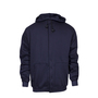 National Safety Apparel® Medium Navy UltraSoft® 22 cal/cm² Flame Resistant Sweatshirt With Zipper Closure