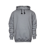 National Safety Apparel® Large Gray Modacrylic Blend Fleece 28 cal/cm² Flame Resistant Sweatshirt With Pullover Closure