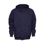 National Safety Apparel® X-Large Navy Modacrylic Blend Fleece 28 cal/cm² Flame Resistant Sweatshirt With Zipper Closure