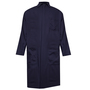 National Safety Apparel® 2X Navy UltraSoft® 12 cal/cm² Flame Resistant Coat With Snap Front Closure