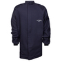 National Safety Apparel® 2X Navy UltraSoft® 40 cal/cm² Flame Resistant Coat With Hook And Loop Closure