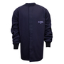 National Safety Apparel® 2X Navy UltraSoft® 12 cal/cm² Flame Resistant Coat With Hook And Loop Closure