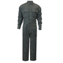 National Safety Apparel® Large Olive Green OPF Blend 9.4 cal/cm² Flame Resistant Coverall With Zipper Closure