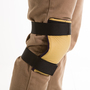Impacto Small Blue/Tan Impacto Stretch Polyester VEP Knee Pad