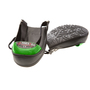 Impacto Protective Products Black/Green Rubber Shoe Cap