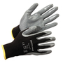 Honeywell Small Pure Fit™ 13 Gauge Gray Nitrile Palm And Fingertip Coated Work Gloves With Black Nylon Liner And Knit Wrist