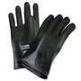 Honeywell Size 8 Black North® Butyl 16 mil Unsupported Butyl Chemical Resistant Gloves